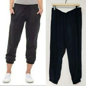 Cloth & Stone Black Jogger Pants Medium